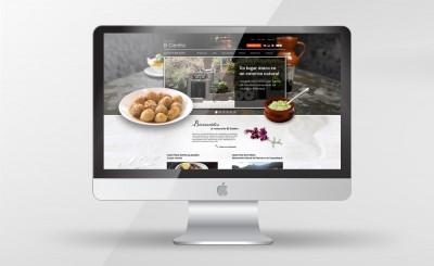 Web Restaurante El Centro